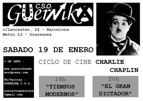 cartel Charlie Chaplin