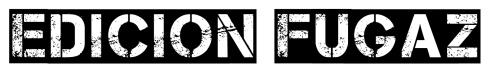 Logo edicion fugaz